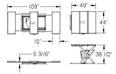 expandable lift dwg